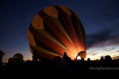 Up we go (wycombiensian) Tags: newmexico glow unitedstates albuquerque balloonfiesta davidmoore glowdeo