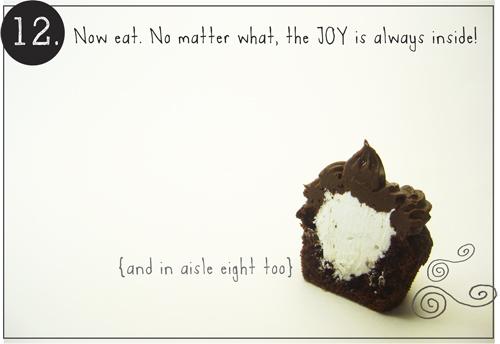 Step 12: Joy Cupcake