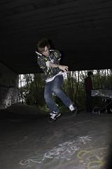 We're the younger generation; 365-15 (Blue Mist Wanderer) Tags: york canon jump skatepark flyover a64 500d roadbridge youngphotographers elliotetherington