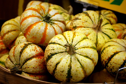 Tiger Stripe Pumpkins