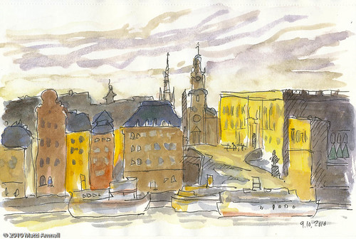 Gamla Stan and The Royal Palace, Stockholm