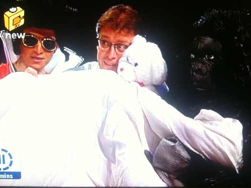 Elvis, me and Monkey