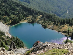 Eunice Lake from Tolmie.