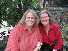 Ruth Frost and Phyllis Zillhart