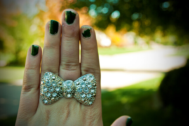 Bow ring! <3