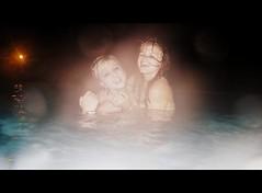 Hobble-Wobble (Silverrungs) Tags: water night hugs skinnydipping