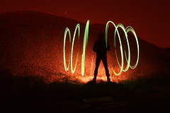 Sig~ (Michael Greenwell) Tags: bridge light lightpainting painting electro tcb rubble 35w lapp pricklebushessuck whatsthatbugbite