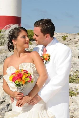 Bridal Styles real Bride Michelle & Arsen!