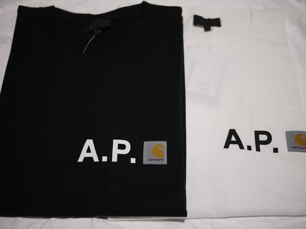 A.P.C. × carhartt