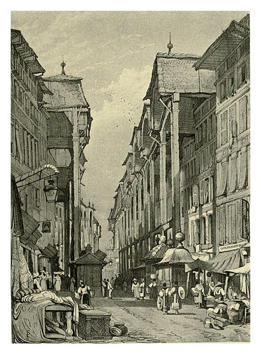039-Genova-Sketches by Samuel Prout in France Belgium….1915