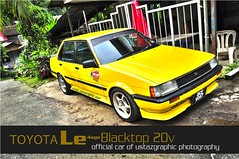 Toyota Levin (UstazgraphiC1) Tags: ae101 ae82 toyotalevin toyotale blacktopengine4age