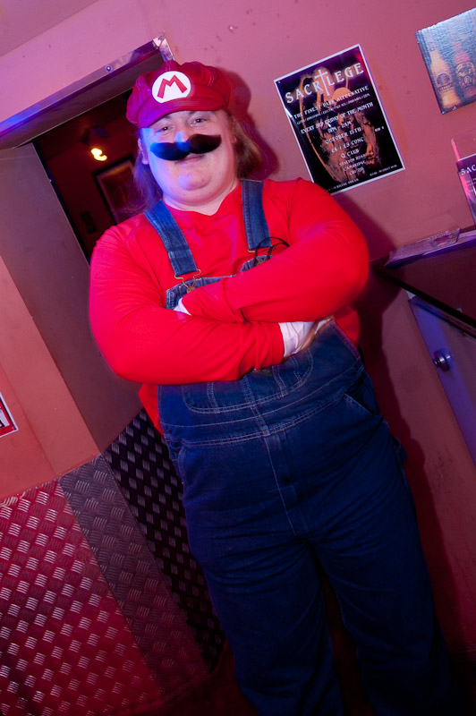 Halloween Sacrilege - Super Mario!