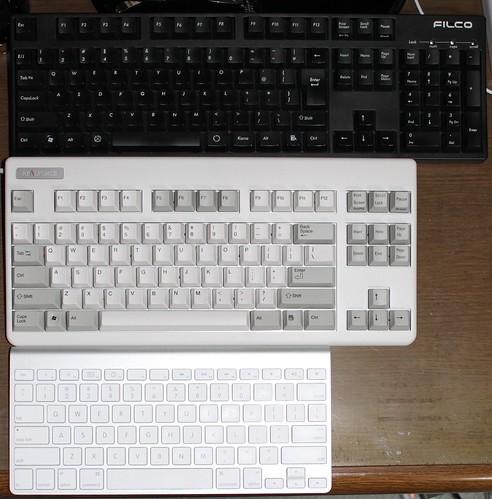 キーボードの比較