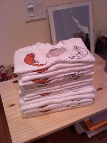 Pile o' Burrow Shirts!