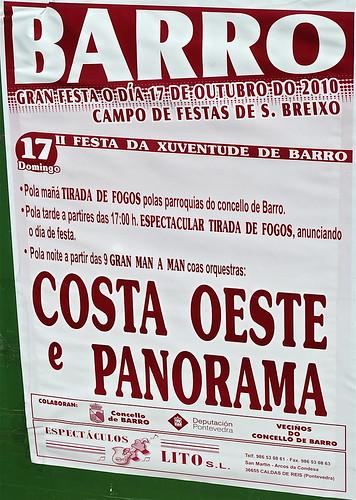 Barro - 2010 - II Festa da Xuventude - cartel