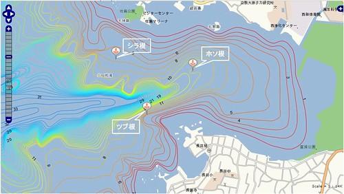 釣りポイント(神奈川県、三浦半島、長井)