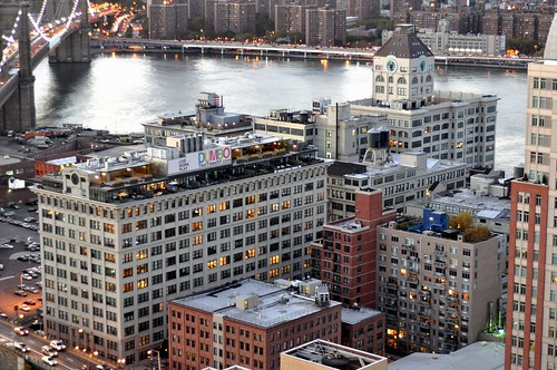 East Dumbo from above