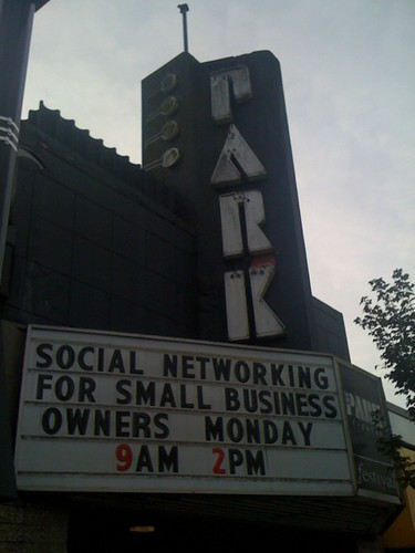 Speaking at the Park Theatre on Cambie Street in #yvr today at 9am and 2pm