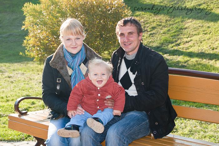 Осенняя фотосессия Матвея и его семьи