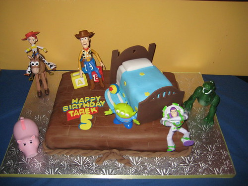 Tarek's 5th Birthday cake (customer's photo)