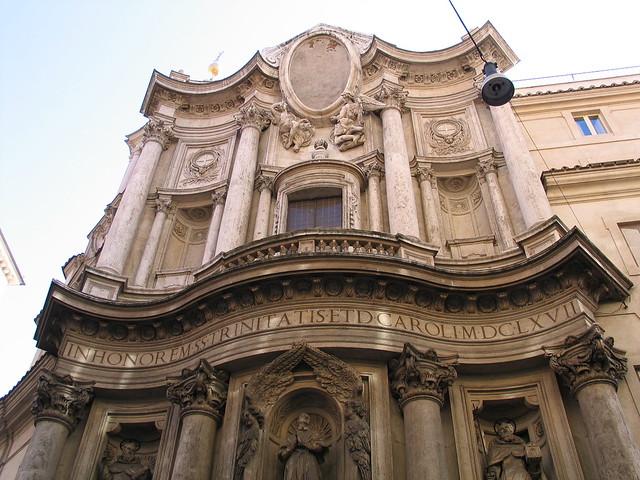 Iglesia de San Carlo alle Quattro Fontane - Borromini