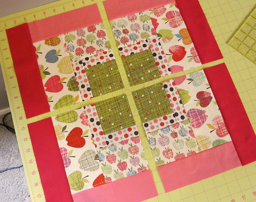 Farmdale Quilt block - cut