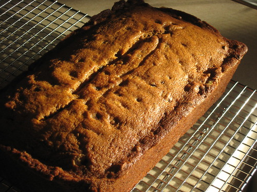 Pumpkin Chocolate Chip Pound Cake