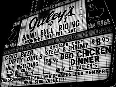 Bikini Bull Riding. (Erik van der Zwet Slotenmaker) Tags: las vegas girls cold beer mud wrestling shrimp bull casino dirty riding bikini