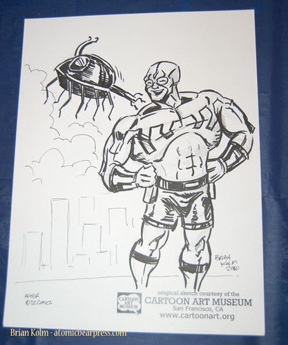ape2010 Blue Beetle (Ted Kord) commissioned drawing