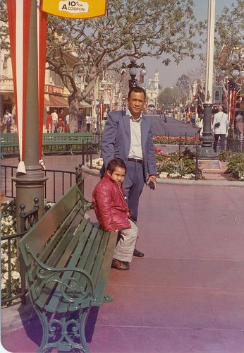 My Uncle Ralph and Me in Town Square