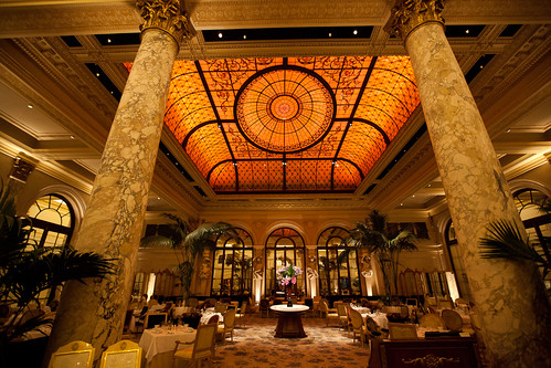 Gorgeous Interior of The Plaza Hotel, NYC