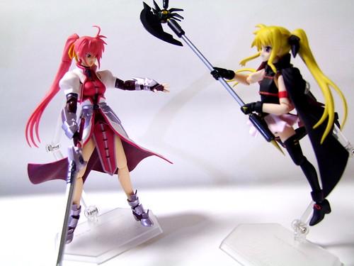 フェイト vs. シグナム/Fate vs. Signum