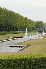 Canal of Shōwa Kinen Park