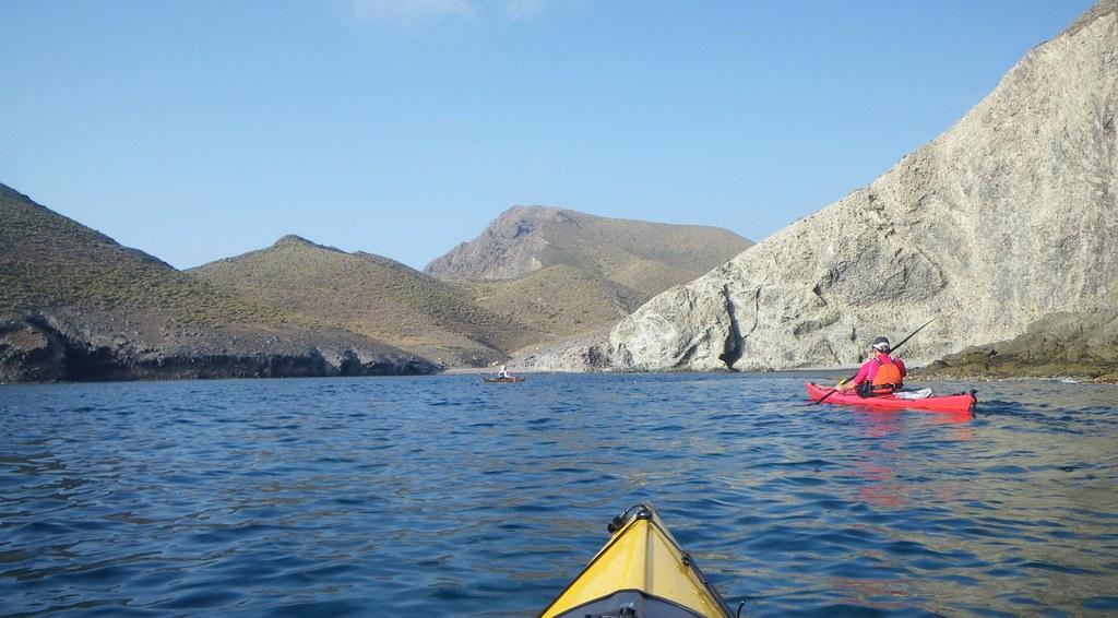Cabo de Gata en kayak 332