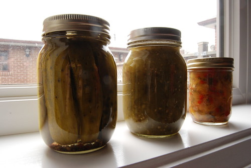 homemade canned goodness!