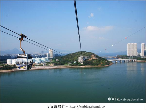 【香港迪士尼】跟著via玩香港(3)~迪士尼卡通人物歡樂巡遊53