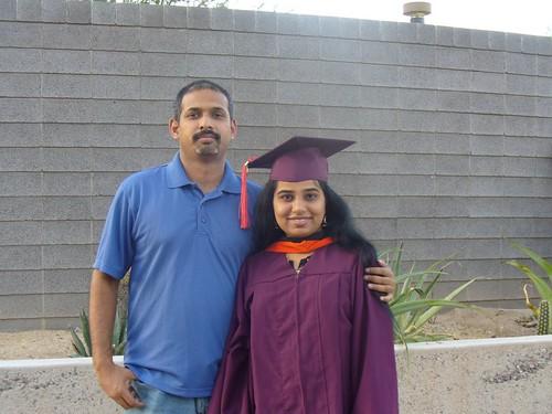 Deepa's Graduation