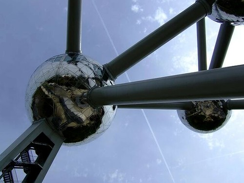 big sphere of the Atomium