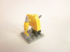 Mech Fun! (Masked Builder) Tags: lego scifi mech creationsforcharity2010