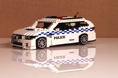 Holden VE Commodore SS Sports Wagon 2008 - Police
