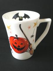 Halloween Mug (psychocandy65) Tags: halloween pumpkin spider tea goth bat mug horror broom