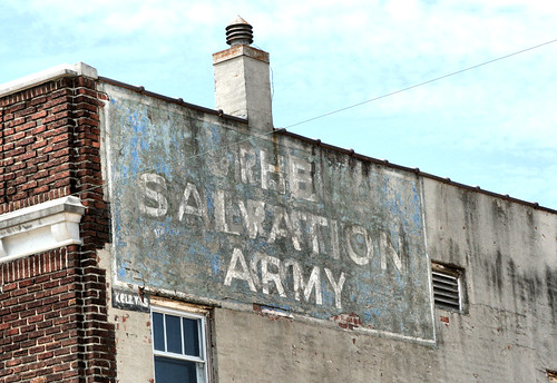 Salvation Army Close Up