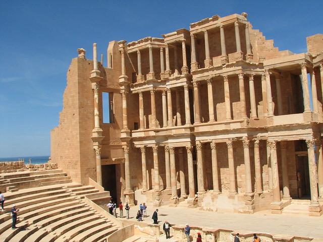 Theatre at Sabratha