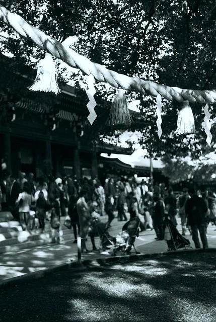 日本東京隨拍-黑白