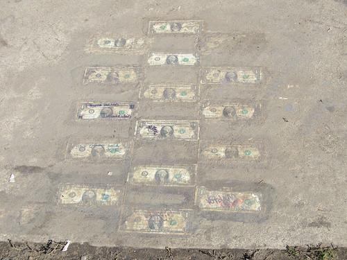 Ashbury Park Sidewalk dollars