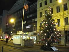 Berlim: Checkpoint Charlie, ponto de passagem do Muro de Berlim