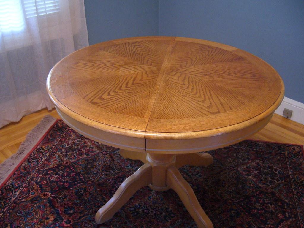 Veneer Table - $90