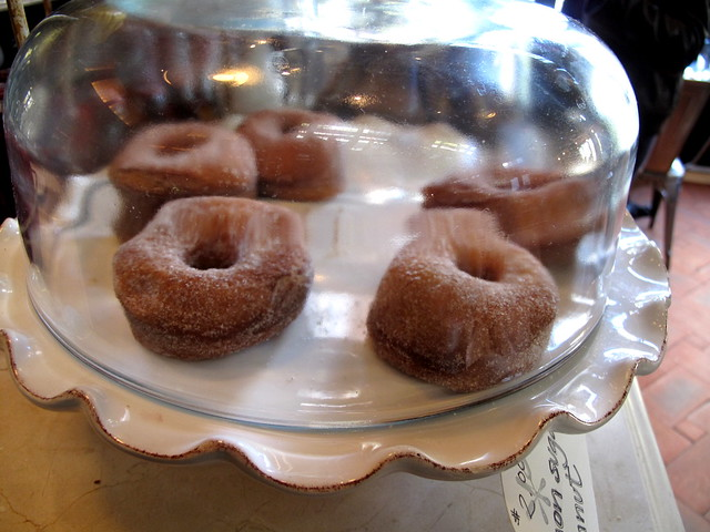 Doughnuts at Locanda Verde - NYC