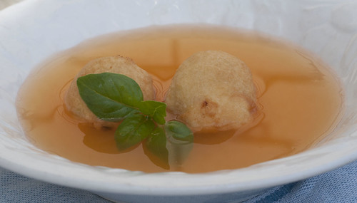 tomato broth with ricotta fritters3