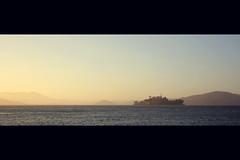 Alcatraz (Yannick Romming) Tags: california blue summer orange usa color america canon movie island eos bay san francisco like l alcatraz 1740 2010 550d
